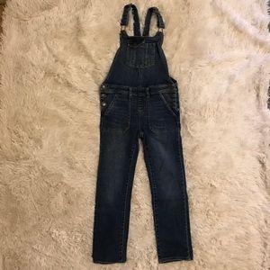 Cat & Jack girls jean overalls